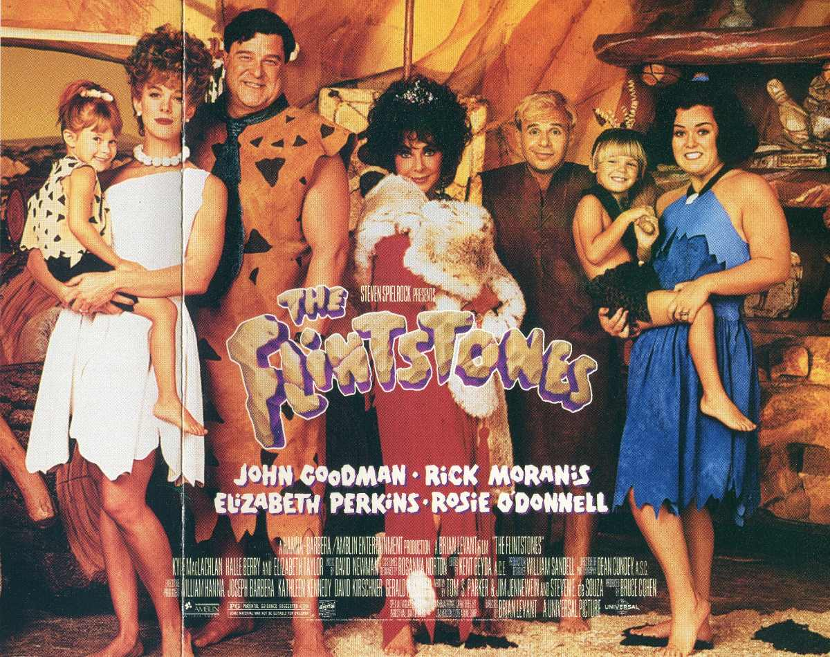 Filme Os Flintstones throughout cd os flintstones - trilha sonora original do filme - r$ 89,90 em