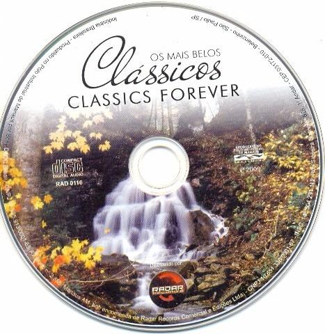 cd os mais belos classicos classics forever somente o cd