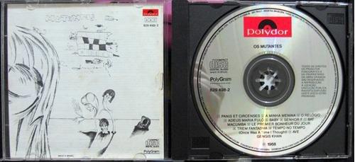 cd os mutantes - 1968 - impecável - raro