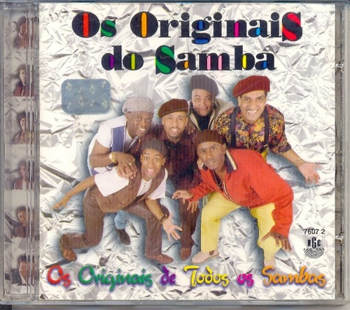 cd os originais do samba - os originais de todos os sambas