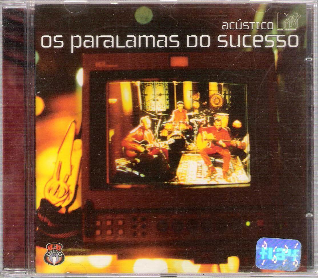 cd os paralamas do sucesso acustico mtv