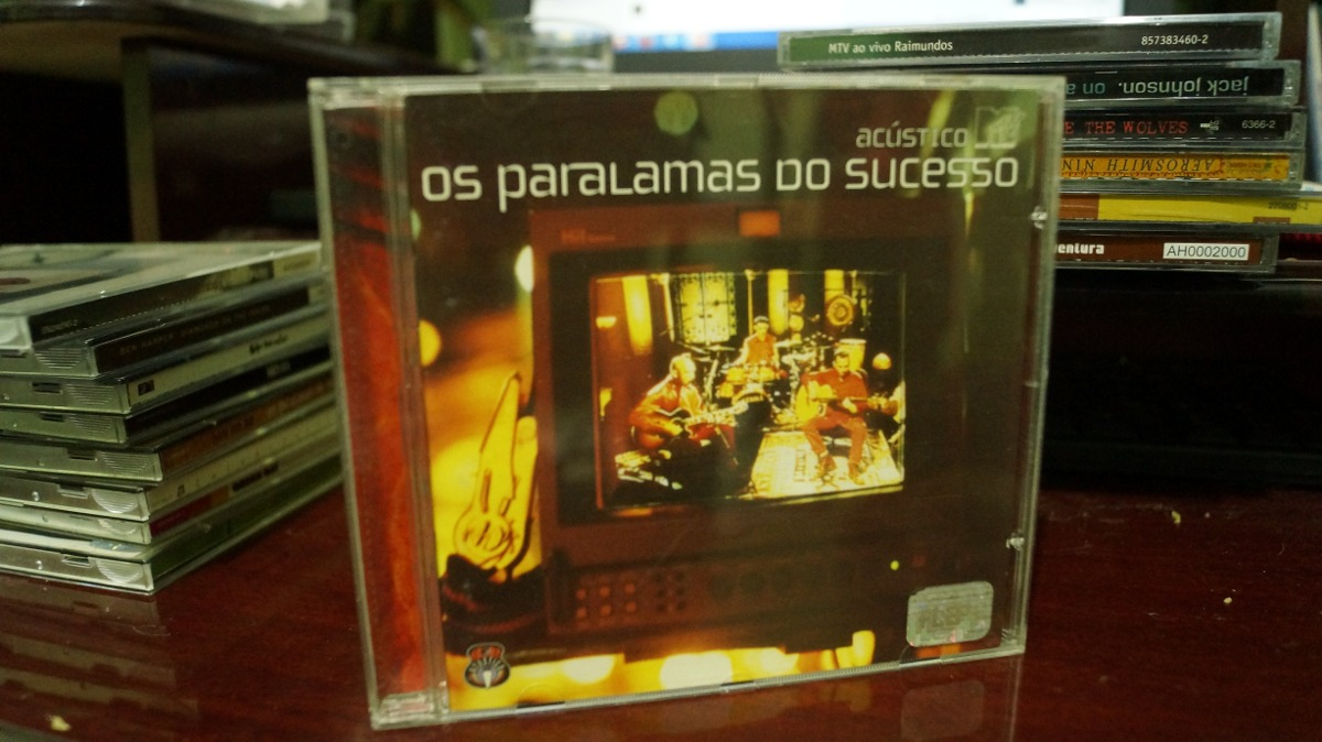 cd paralamas do sucesso acustico