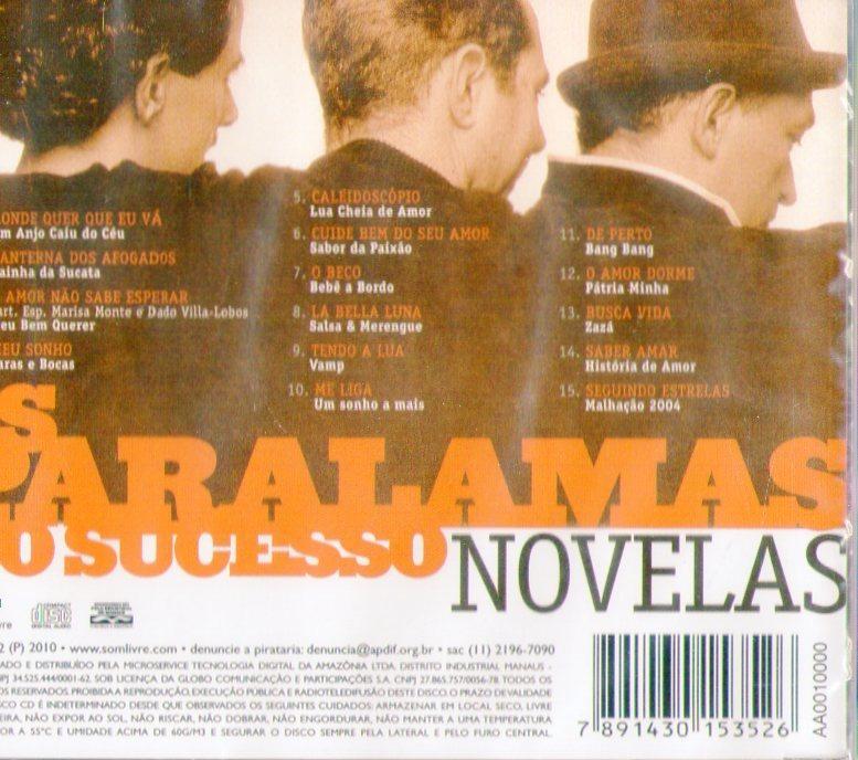 cd paralamas do sucesso novelas gratis
