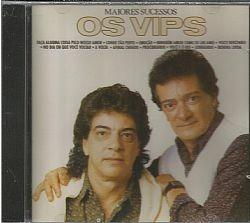 cd os vips - maiores sucessos (usado/otimo)