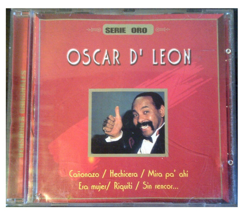 cd - oscar de leon - serie oro - 1999 - original