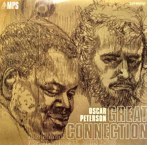 cd oscar peterson great connection louis hayes made in usa