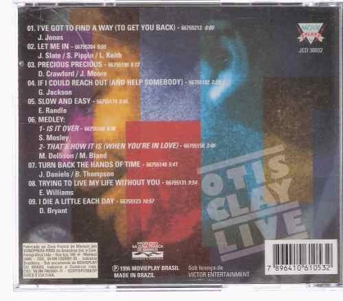 cd   -   otis clay : live - b269