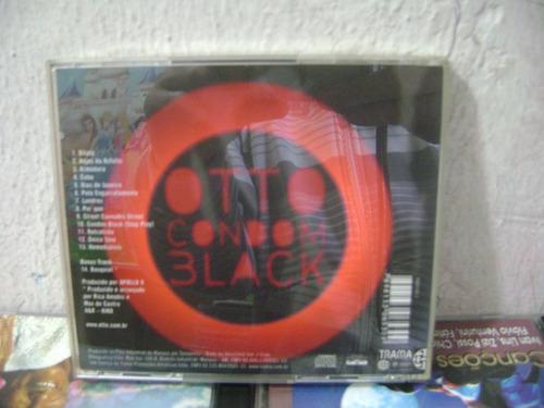 cd-otto condon black-em otimo estado