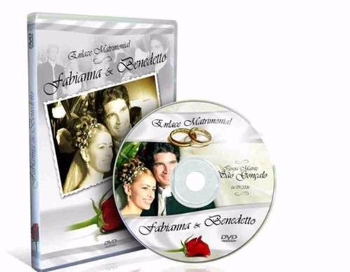 cd ou dvd + box + impressão + gravação + capa papel foto