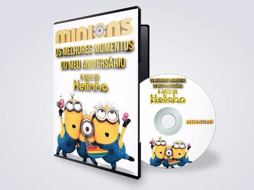 cd ou dvd + box + impressão + gravação + encarte papel gloss