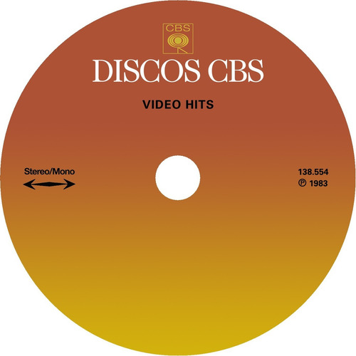 cd ou lp * video hits 1 (1983) remasterizado