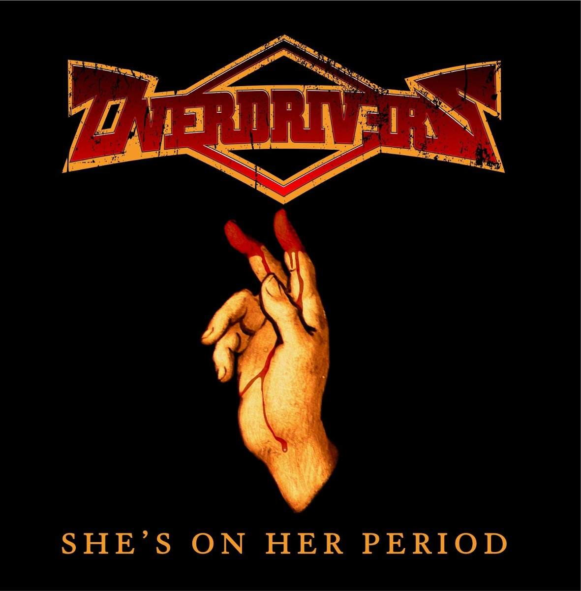 Cd : Overdrivers - She's On Her Period (cd)
