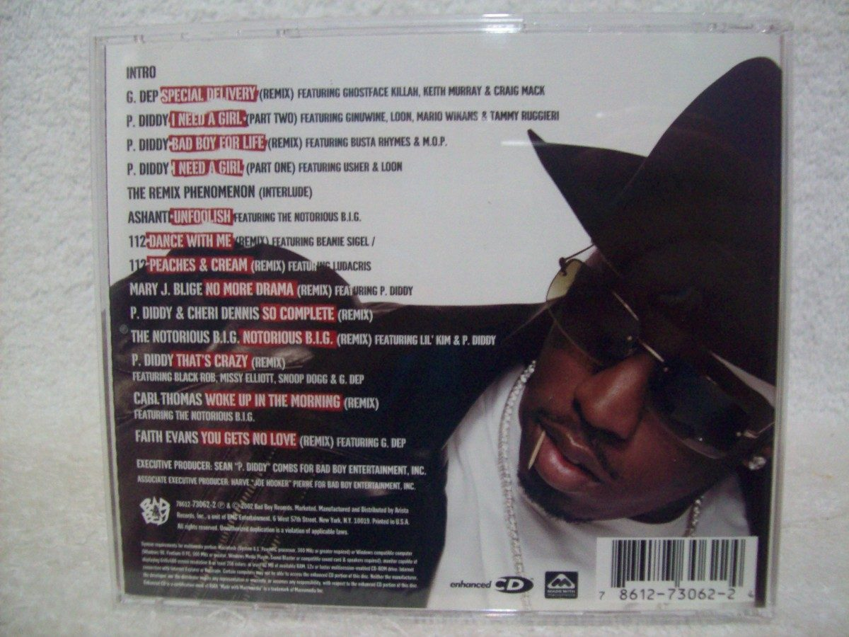 P diddy we invented the remix album rar