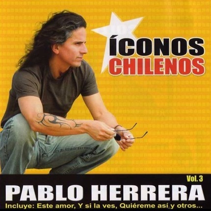 cd - pablo herrera - iconos chilenos