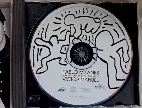 cd pablo milanes y victor manuel  en blanco y negro oka