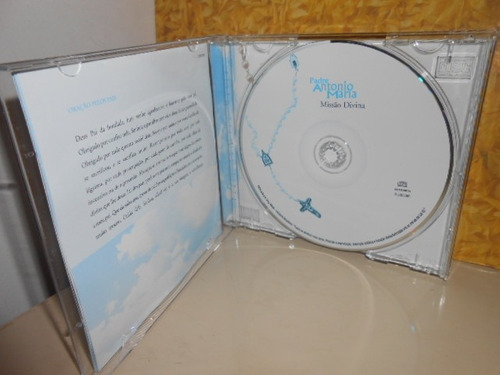 cd padre antonio maria / missão dívina     (frete grátis)