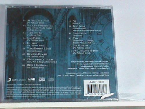 cd - padre fábio de melo (novo - original - lacrado)