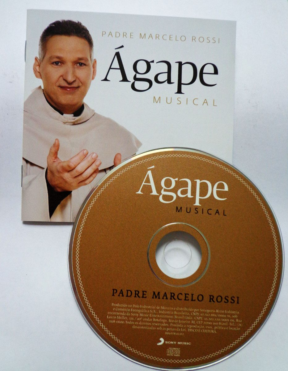 novo cd do padre marcelo rossi agape