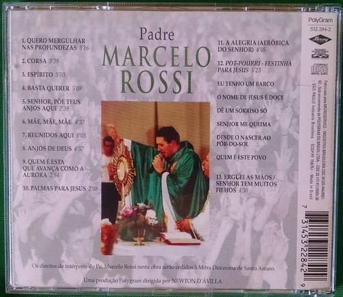 cd padre marcelo rossi - músicas para louvar o senhor