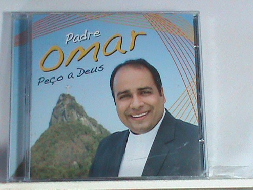 cd - padre omar - peço a deus  (novo - original - lacrado)