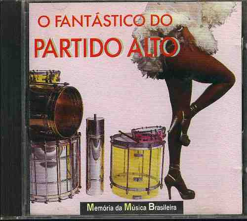cd pagode do bixiga - o fantástico do partido alto - 1992
