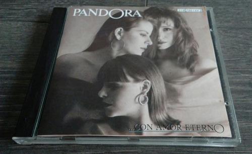 cd: pandora - con amor eterno