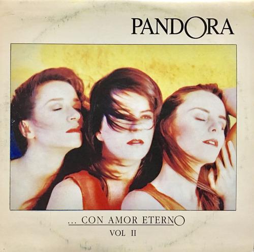 cd pandora con amor eterno vol 2 promo usado