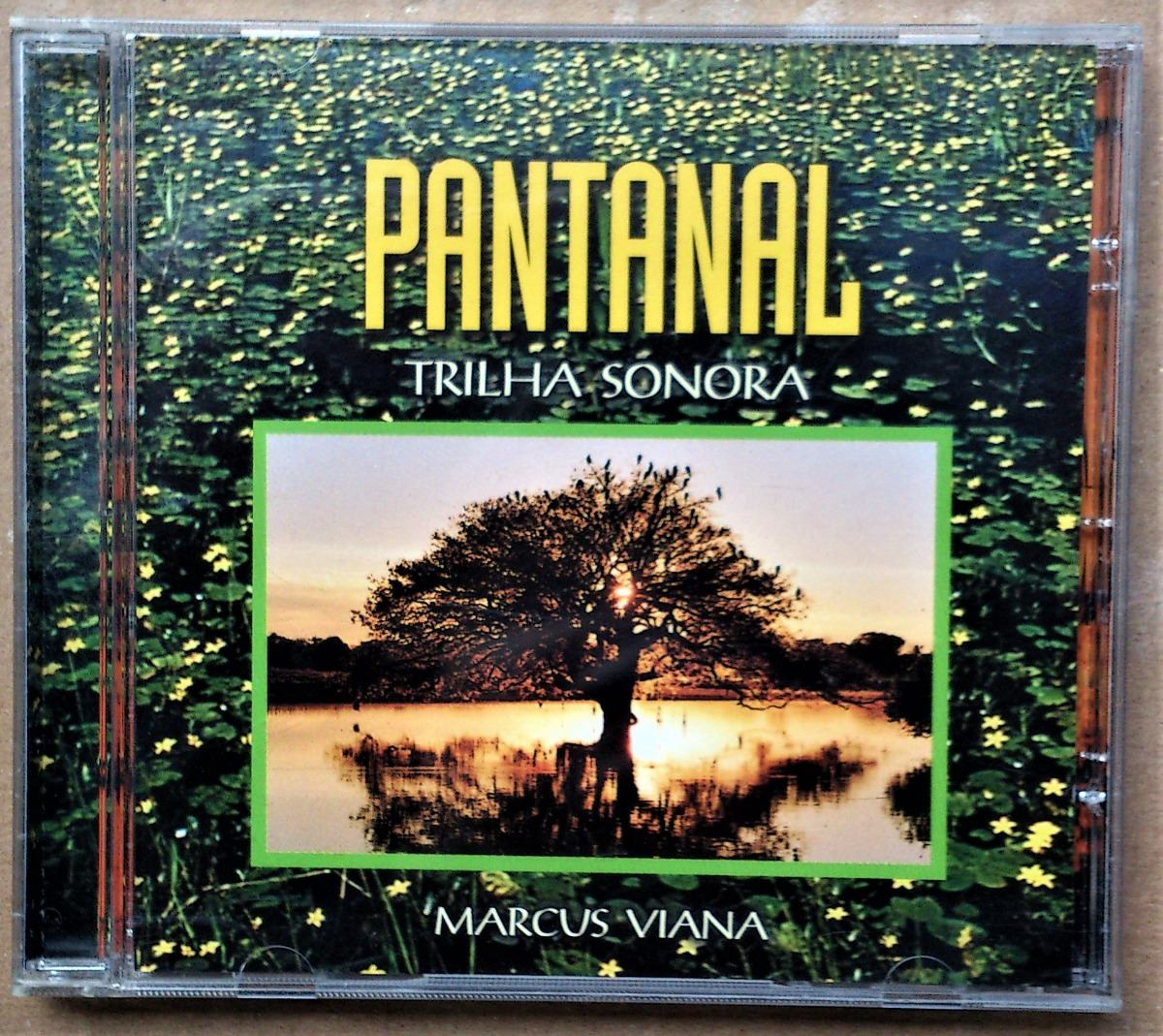cd trilha sonora pantanal