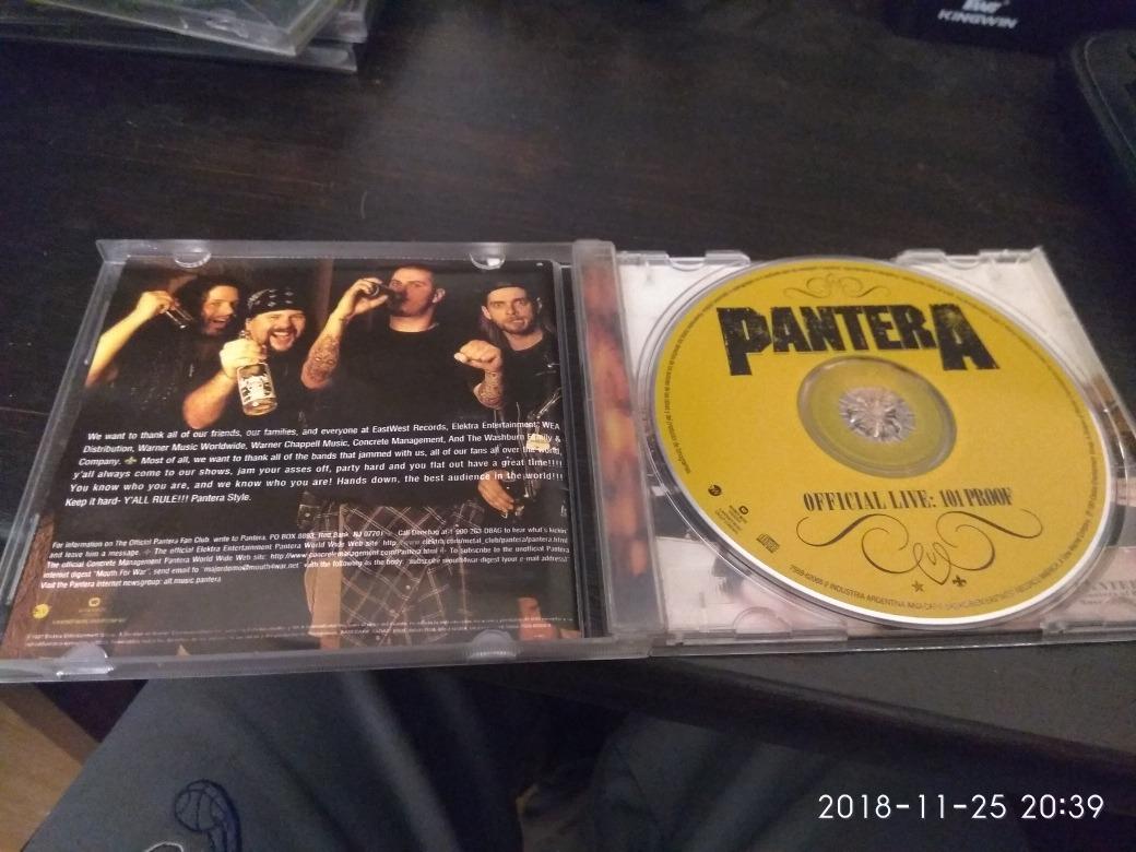 Pantera Live 101 Proof