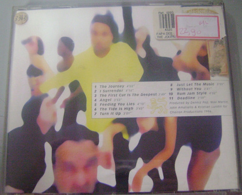 cd - papa dee - the journey - 1996