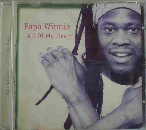 cd   papa winnie - all of my heart  - b245