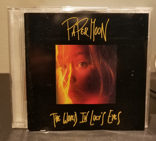 cd papermoon world in lucy's eyes - original - frete 10,00