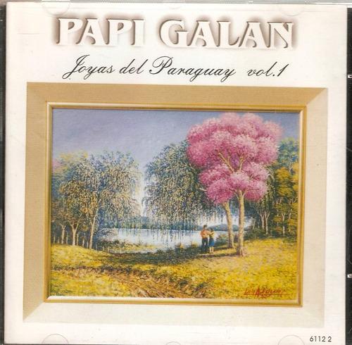 cd papi galan - joyas del paraguay vol. 1 - novo***