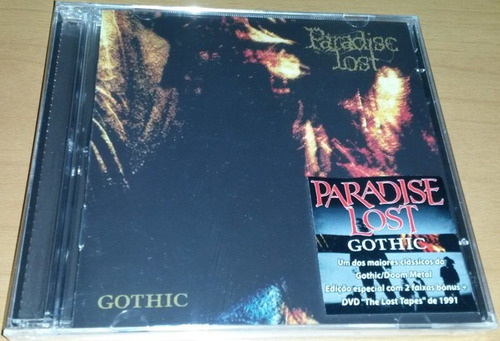 cd paradise lost gothic cd + dvd