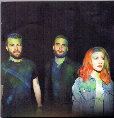 cd paramore - fast in my car - novo***