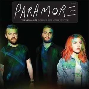 cd paramore - the new album