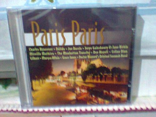 cd paris paris @ coletânea românticas (lacrado) frete grátis