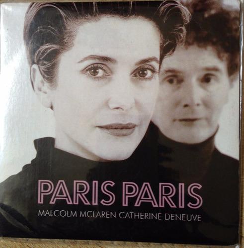 cd - paris paris - malcolm maclaren catherine deneuve - imp.