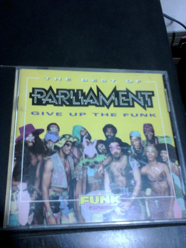 cd parliament the best of (give up the funk) importado