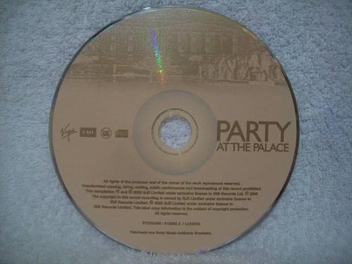 cd party at the palace- the queen's concert