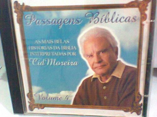 cd passagens bíblicas vol. 4 / cid moreira   (frete grátis)