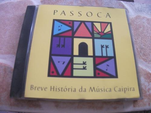 cd - passoca breve historia da musica caipira