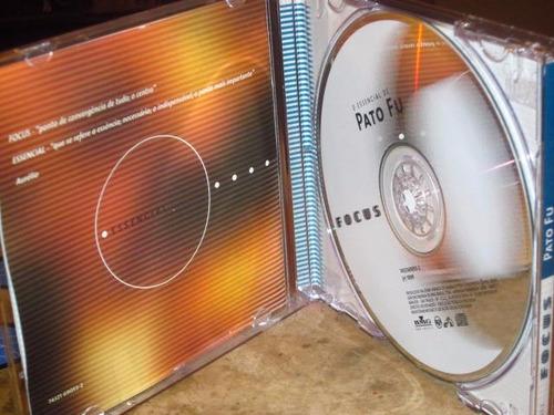 cd pato fu - focus essencial (1999) c/ fernanda takai