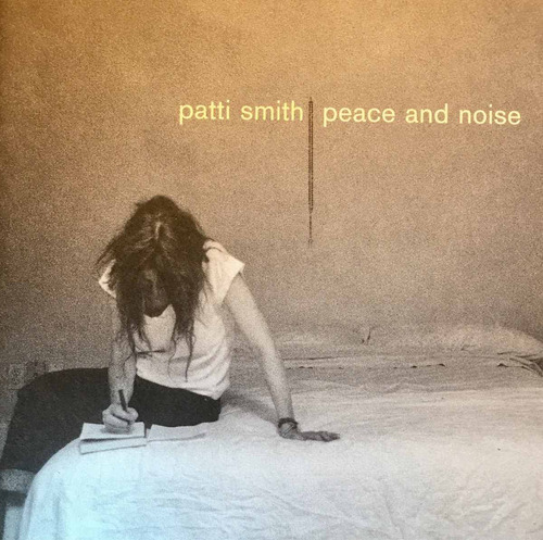 cd patti smith peace and noise made in usa
