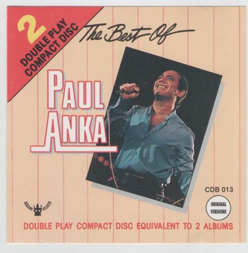 cd paul anka - the best of (importado) my way , she´s a lady