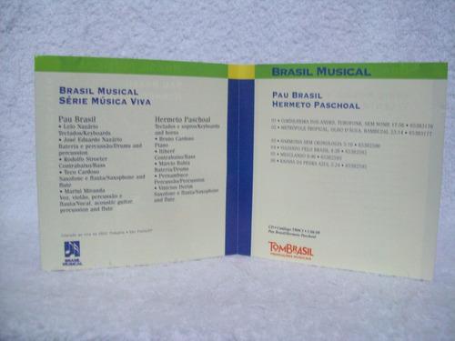 cd paul brasil & hermeto paschoal- brasil musical