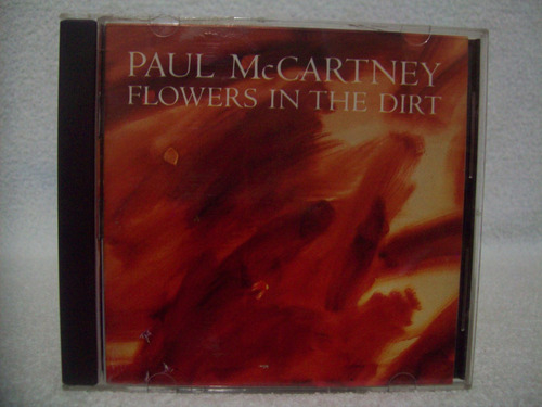 cd paul mccartney- flowers in the dirt