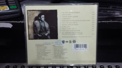 cd - paul simon - graceland
