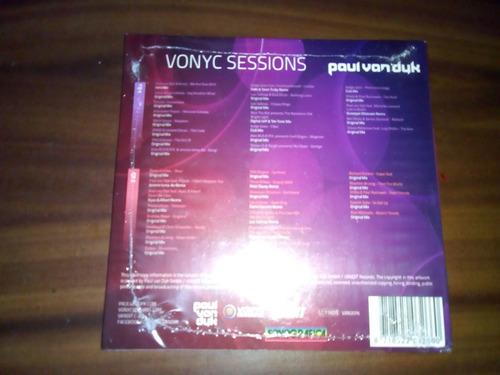 cd paul van dyk vonic sessions nuevo y sellado