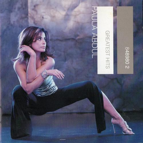 cd paula abdul greatest hits (raro)